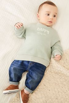 Stretch Denim Jeans (0mths-2yrs)