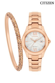 Citizen Ladies Watch And Bracelet Set