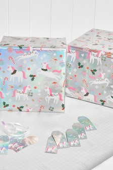 Luxury 6m Wrapping Paper With Tags