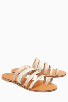 Multi Toe Loop Sandals