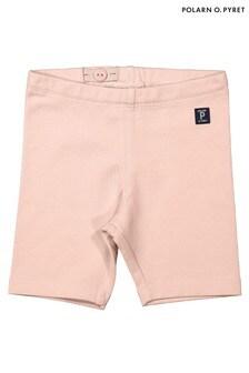 Polarn O. Pyret Pink GOTS Organic Baby Shorts