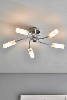 Seville 5 Light Flush Fitting