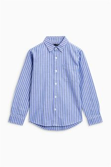 Long Sleeve Vertical Stripe Shirt (3-16yrs)