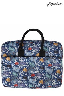 Paperchase Floral Laptop Bag