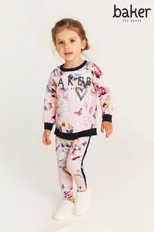 Baker by Ted Baker Pink Printed Sweat Set
