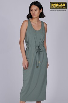 Barbour® International Belted Midi Qualify Dress