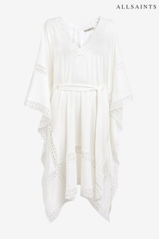 AllSaints White Trine Cover Up