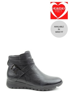 Heavenly Feet Turin Ladies Ankle Boots