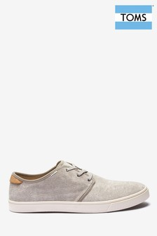 TOMS Carlo Lace Up Trainers