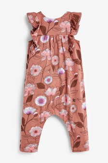 Frill Front Playsuit (3mths-7yrs)