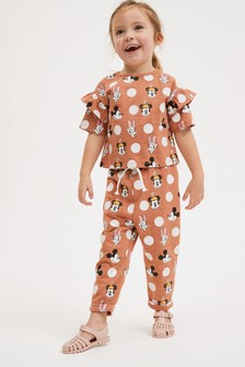 Minnie Mouse T-Shirt And Trousers Co-ord Set (3mths-7yrs)