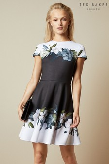 Ted Baker Black Skater Dress
