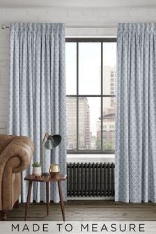Helio Fog Grey Made To Measure Curtains