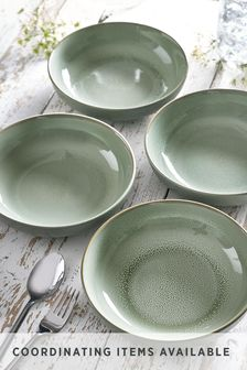 Logan Reactive Set of 4 Pasta Bowls