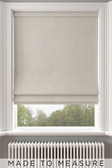 Inspira Linen Metallic Made To Measure Roman Blind