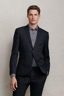 Stripe Skinny Fit Suit