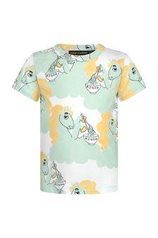 Mini Rodini Kids Green T-Shirt