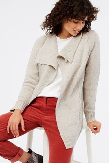 White Stuff Natural Polar Cardigan