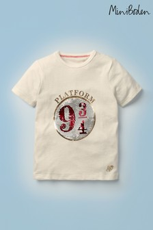 Boden Harry Potter Platform 9¾ Sequin T-Shirt
