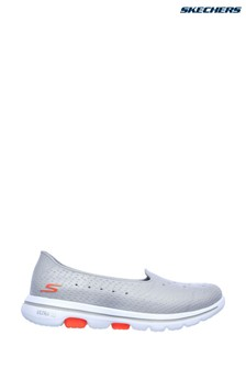Skechers® Grey Go Walk 5 Sun Kissed Trainers