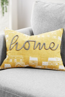 Home Pom Pom Cushion