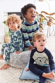 3 Pack Koala Snuggle Pyjamas (9mths-8yrs)