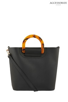Accessorize Black Lucy Handheld Bag
