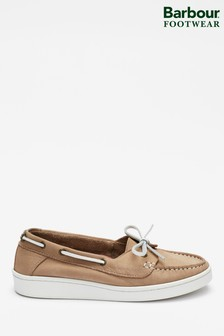 Barbour® Stone Miranda Boat Shoes