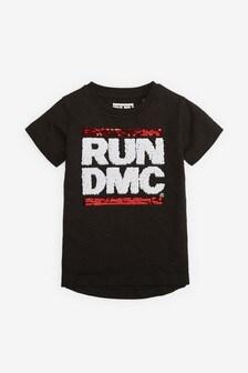 Run DMC Flippy Sequin T-Shirt (9mths-8yrs)
