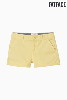FatFace Alice Chino-Shorts, Gelb