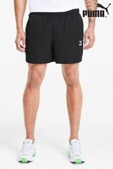 Puma® Black Woven Shorts