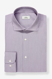 Regular Fit Easy Iron Stripe Shirt