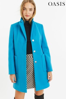 Oasis Blue Libby Coat