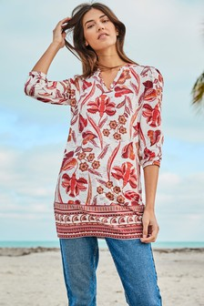 Notch Neck Tunic