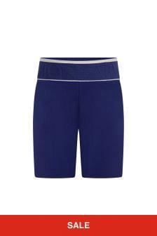 Emporio Armani Baby Boys Blue Shorts