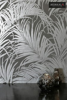 Palm Kiss Tropical Leaves Wallpaper by Arthouse
