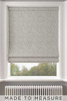 Pionna Linen Cream Made To Measure Roman Blind