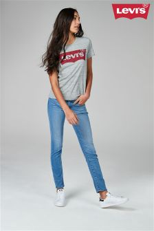 Светлые выбеленные джинсы Levi's® 711™ Skinny Thirteen