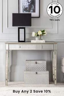 Fleur Slim Dressing Table / Desk