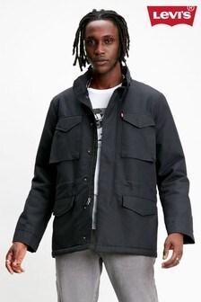 Levi's® Black Sherpa Field Coat