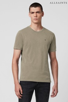 AllSaints Taupe Marled Ossage T-Shirt