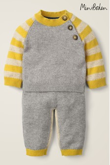 Boden Grey Novelty Knitted Play Set