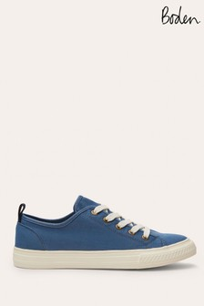 Boden Blue Freya Low Top Trainers