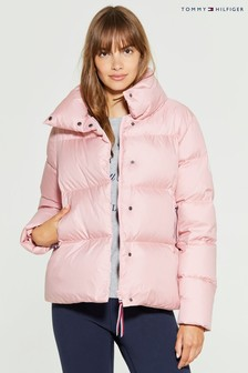 Tommy Hilfiger Pink Pearl Down Jacket