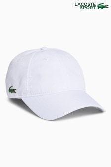 Czarna czapka z daszkiem Lacoste® Sport