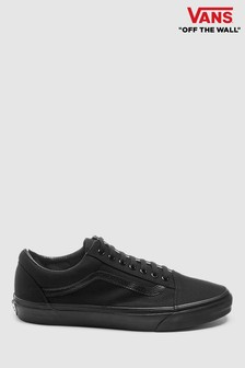 vans atwood black leather velcro