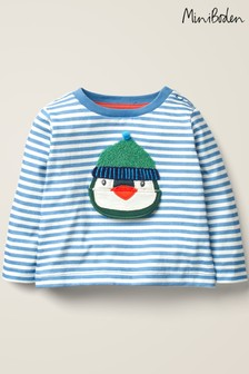 Boden Blue Novelty Lift-The-Flap T-Shirt