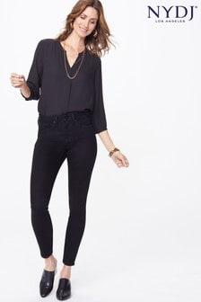 NYDJ Black Ami Skinny Leg Jeans