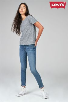 Levi's® 711™ Mid Wash Head In The Clouds Skinny Jean