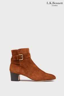 L.K.Bennett Jerrie Buckle Ankle Boots